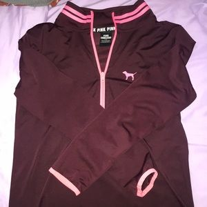 vs pink active long sleeve